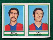 CALCIATORI 1973-74 73-1974 n 444 CATANIA FATTA FOGLI , Figurina Panini NEW b