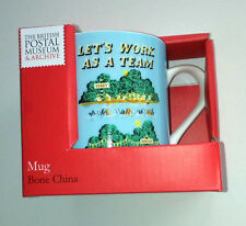 LET'S WORK AS A TEAM MUG British Postal Museum & Archive RETRO OFFICE GIFT Boxed