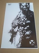 Wolverine 11x17 Art Print / Poster, Signed Art, X-Men, Marvel Comics Superhero
