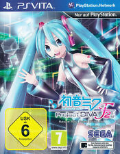 Sony Playstation Vita PSV PSVita Spiel Hatsune Miku: Project Diva F 2nd *NEU*NEW
