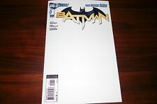 Batman #1 Custom blank Sketch cover over rare print