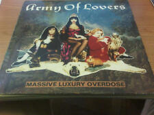 LP ARMY OF LOVERS MASSIVE LUXURY OVERDOSE TON SON TON ARMYLP-2 VG/VG SWEDEN 1991