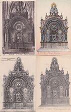 Lot 4 cartes postales anciennes BEAUVAIS cathédrale l'horloge de vérité