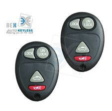 2 New 4 Button Keyless Entry Remote Control Click for Buick 2002-2007 Rendezvous
