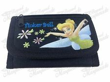 Disney Tinkerbell Teen Girls Tri-Fold Wallet - Black