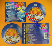 CD 39°Festivalbar 2002 Compilation Blu LIGABUE JAMIROQUAI THE CALLING NEK(C26)