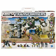 KRE-O Transformers 36951 Destruction Site Devastator 9 in 1 Bauset Hasbro