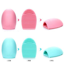 Silicone Cleaning Egg Cosmetic Brush Mack Up Brush Cleaner Beauty Tools