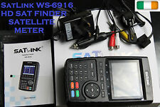 Satellite HD Signal Finder Meter SatLink WS-6916 DVB-S FTA Dish Set Satfinder