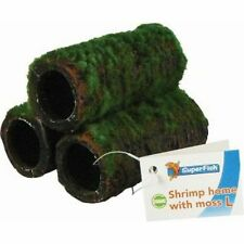 Ceramic Shrimp Home & Moss Aquarium Breeding Cave Ornament Fish Tank Decoration