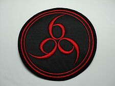 666  EMBROIDERED  PATCH