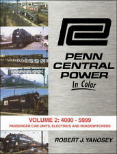 PENN CENTRAL POWER, Vol. 2: 4000-5999 Passenger Cab Units & Roadswitchers (NEW)
