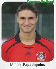300 M. PAPADOPULOS REP.CZECH BAYER 04 LEVERKUSEN STICKER FUSSBALL 2007 PANINI