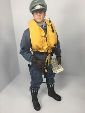 1/6 DRAGON GERMAN LUFTWAFFE BF-109 FIGHTER PILOT PPK FLARE GUN WW2 BBI DID 21ST