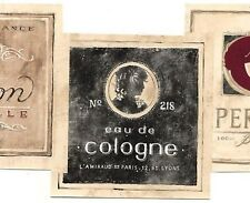 Wallpaper Border French Perfume Cologne Labels Die Cut