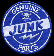 Genuine junk Parts Patch Automotive Hot Rod Motorcycle Drag Race Ed Roth