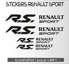 sticker autocollant adhésif automobile RENAULT SPORT RS