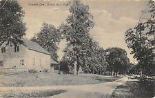 Union Hill New Jersey Roselle Ave Street Scene Antique Postcard K33416