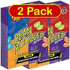 2 Pack BEAN BOOZLED 1.6oz Jelly Belly ~ Weird & Wild Flavors ~ Party Candy
