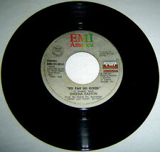 "PHILIPPINES:SHEENA EASTON -So Far So Good 7"",45 RPM,Record,Vinyl,Nile Rodgers"