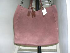 NWT Cole Haan Shopper Crosby Suede in Chestnut 013816212451