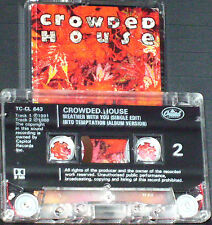 Crowded House Weather With You CASSETTE SINGLE Pop Rock 1992 Capitol Records