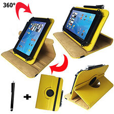 7 zoll Tablet Tasche -  blackberry playbook Hülle Etui - 360° Gelb 7