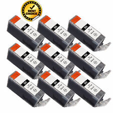 9 x New PGI-225 PGI225 Bk Ink Cartridge For Canon Pixma MG5320 MX712 MX892 MX882
