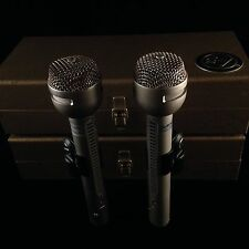 Vintage 1969 Electro-Voice RE15 Microphone Pair (ev,electrovoice,re 10,11,15,16)