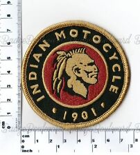 Indian Motocycle 1901 Round Embroidered Patch