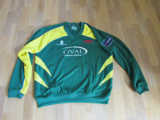 Leicestershire Ryan Cummins N ° 25 Match Worn / número / Cricket Top Xl-Ver Fotos
