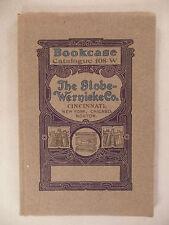 Globe-Wernicke CATALOG #108-W - 1908 ~~ bookcase & filing cabinet ~~ nice cond.