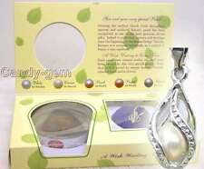 Popular Gift SALE 1 helix(drop) pendant Wish Pearl Necklace wish come true-w120