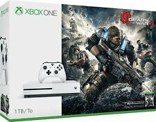 NEW Microsoft Xbox One S 1TB Console - Gears of War 4 Bundle