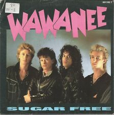 WA WA NEE-SUGAR FREE SINGLE VINILO 1987 PROMOCIONAL SPAIN