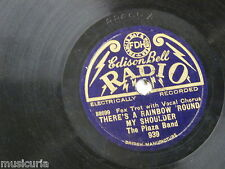78rpm THE PLAZA BAND a rainbow round my shoulder / ole man sunshine EDISON 939