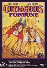 Outrageous Fortune * NEW DVD * Bette Midler Shelley Long