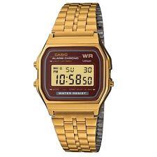Orologio CASIO Watch Unisex A159WGEA-5DF Acciaio PVD oro dorato Vintage