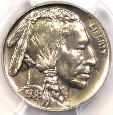 1936 PROOF Brilliant Buffalo Nickel 5C Coin - PCGS PR67 (PF67) - $3,750 Value!