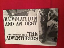 m12t ephemera 1969 film article the adventurers lewis gilbert