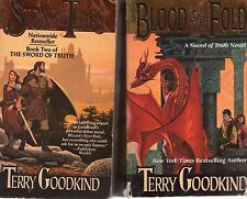 Partial Set Series - Lot of 11 HARDCOVER Terry Goodkind Sword of Truth Books