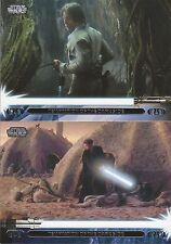 2013 Topps Star Wars Jedi Legacy 90 Card Complete Base Set Luke Anakin Skywalker