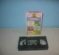 Franklin VHS Video Franklin Learns to Share Readers Digest Young Families Series