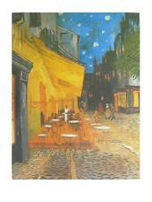 Vincent van Gogh Nachtcafe Poster Kunstdruck Bild 80x60cm - Kostenloser Versand