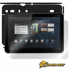 ArmorSuit MilitaryShield Motorola Xoom Screen Protector + Black Carbon Skin