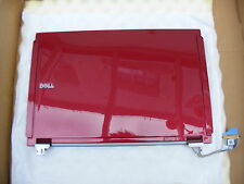NEW DELL F115G LATITUDE E4200 RED LCD BACK COVER WITH HINGES.