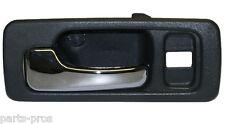 New Inside Door Handle LF GRAY / FOR 1990-93 ACCORD SEDAN W/ POWER LOCKS