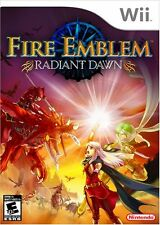 Fire Emblem: Radiant Dawn [Nintendo Wii, NTSC Video Game, Strategy RPG] NEW