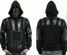 Marc Ecko Cut & Sew Star Wars Darth Vader Hooded Sweatshirt Zip Up Mask Sz M med