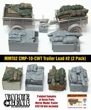 1/35 Mirror Models Trailer Loads #2 (2 Pack) - Value Gear - Resin Cargo/Stowage